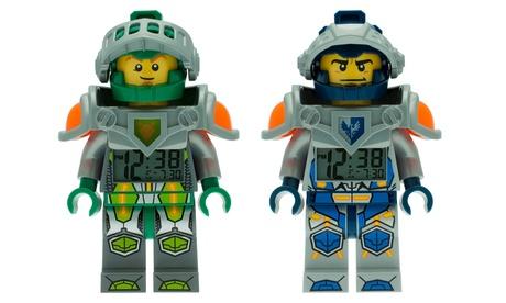 LEGO Nexo Knights Minifigure Alarm Clock 0c6c87c8-1629-11e7-a59b-00259060b5da
