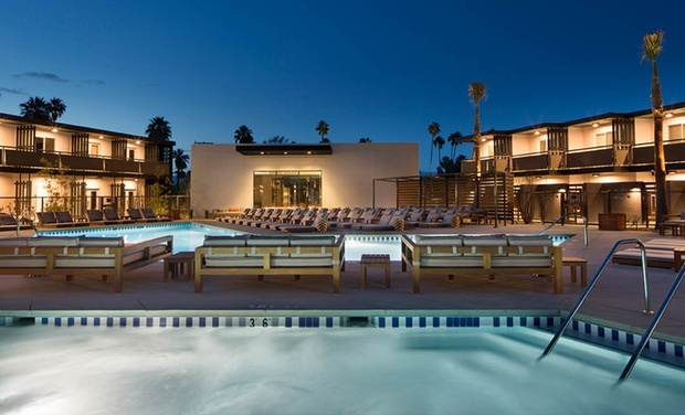 Palm Springs Hotels >> V Palm Springs 4 Star Palm Springs Hotel Groupon Getaways