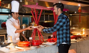 Feast Restaurant at Sheraton Grand Dubai: Friday Brunch with Soft Beverages for Up to Four at Feast at Sheraton Grand Hotel Dubai (Up to 46% Off)
