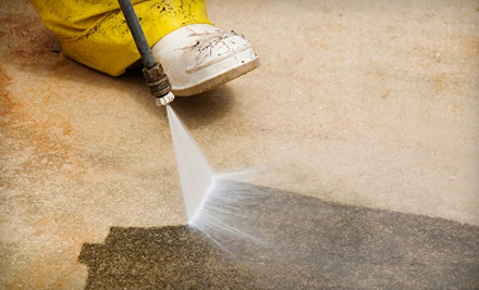 Springtime Deck Power-Washing for Up to 250 Sq. Ft. Including Railings & Stairs  - As Good As New, LLC in
