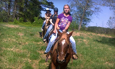 60-Minute Trail Ride for 1 (a $40 value) - Black Creek Hill Farms in Benson