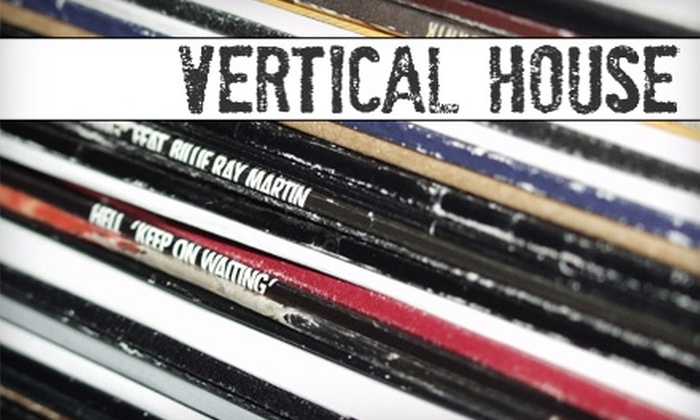 Vertical House Records - Huntsville: $10 for $20 Worth of CDs, Vinyl, Movies, and More at Vertical House Records