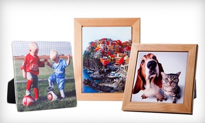 """TilesandSmiles: $10 for a 6""""x6"""" Custom Photo Tile ($24.95 Value) or $25 Toward Tiles at TilesandSmiles"""
