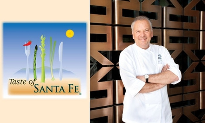 Taste of Sante Fe - Santa Fe: $25 for a Special Ticket Including 25 Tastes and Two Glasses of Wine at the Taste of Santa Fe