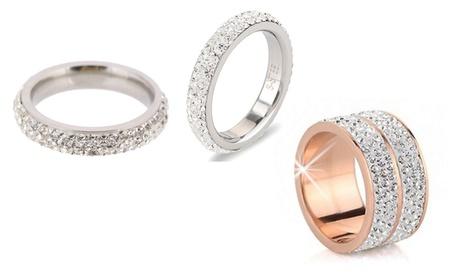 Anelli Be-Jewels con Swarovski®