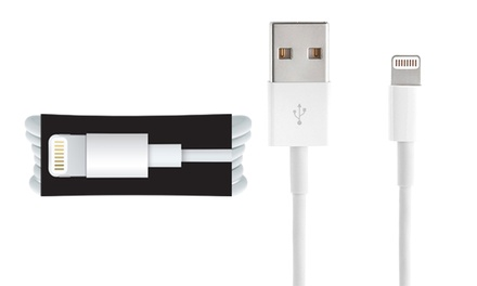 Apple Lightning Cable Repackaged with optional Tempered Glass...