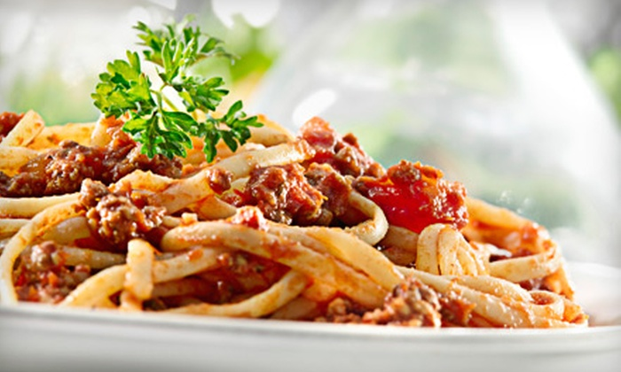 Bova's Italian Restaurant - South Westminster: $19 for an Italian Dinner with Entrees and Drinks for Two at Bova's Italian Restaurant in Westminster (Up to $40.50 Value)