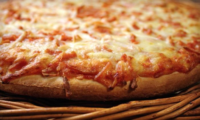 Salvatore Pizza, Pasta, & Subs - Hialeah: Pizza Dinner for Two or Four at Salvatore Pizza, Pasta & Subs in Hialeah