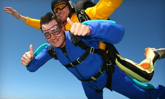Skydive Greensburg - Washington: $129 for Tandem Jump at Skydive Greensburg ($269 Value)