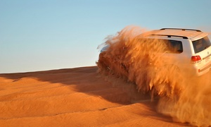 Net Tours Abu Dhabi: Desert Safari Experience with BuffetFor Child (AED 79) or Adult (from AED 129) from Net Tours Abu Dhabi (Up to 60% Off)