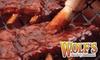 Wolf's Bar-B-Q Restaurant - Evansville: $10 for $20 Worth of Barbecue Fare at Wolf's Bar-B-Q Restaurant