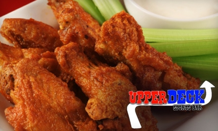 Upper Deck Sports Bar - Green Park: $6 for $15 Worth of Drinks and Pub Fare at Upper Deck Sports Bar