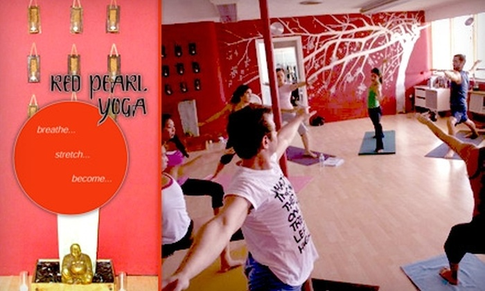 Red Pearl Yoga - Victoria Park: $39 for One Month of Unlimited Yoga Classes at Red Pearl Yoga ($160 Value)