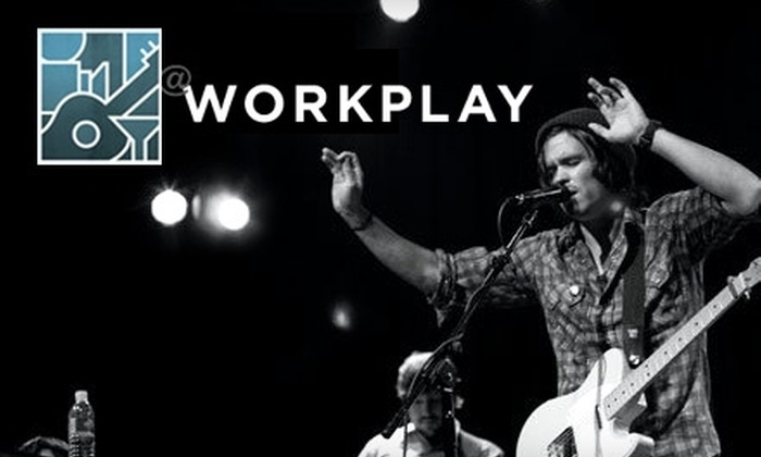 Gulf Aid: A Beach Preservation Series - Birmingham: $5 for One Ticket to WorkPlay's Gulf Aid Concert with Taylor Hollingsworth, Kate Taylor, Chris Adler, and Hugh Mitchell ($10 Value)