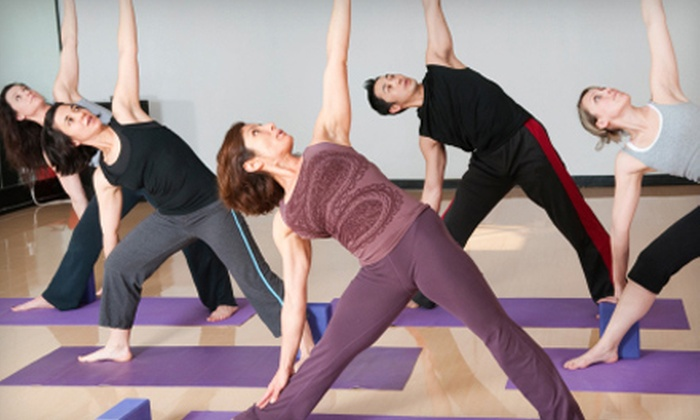 Fearless Heart Yoga - Waterloo: $40 for One Month of Unlimited Yoga Classes at Fearless Heart Yoga (Up to $90 Value)