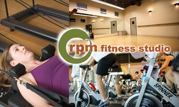 RPM Fitness Studio - Valley Village: $30 for Five Spinning, Pilates, or Yoga Classes, Plus Spinning Shoe Rental at RPM Fitness Studio
