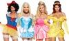 Leg Avenue Women's Sexy Halloween Fairytale Princess Costume (3-Piece)