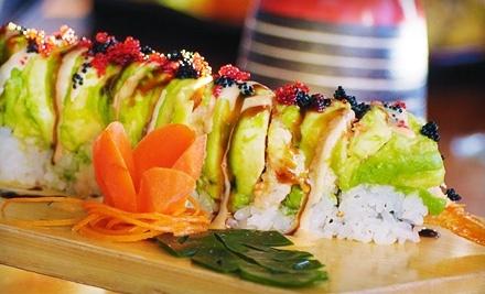 $20 Groupon to Bonsai Japanese Restaurant & Sushi Bar - Bonsai Japanese Restaurant & Sushi Bar in Greensboro