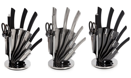 Tower SevenPiece Knife Set with Stand