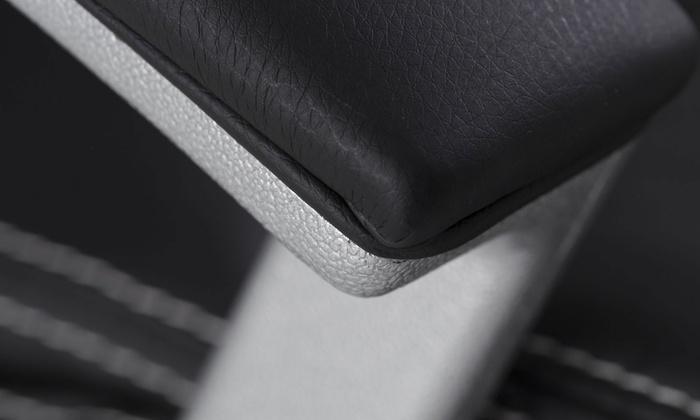 Fauteuil de bureau confort coach noir ou gris groupon shopping