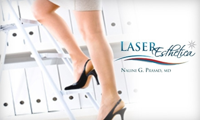 Laser Esthetica - Lead Hill: $150 for Three Laser Hair-Removal Treatments at Laser Esthetica