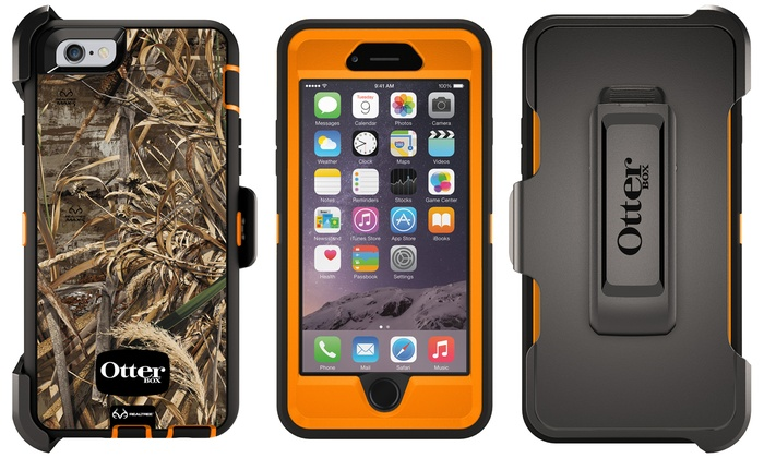 OtterBox Defender Series Case with Holster and Kickstand for iPhone 6