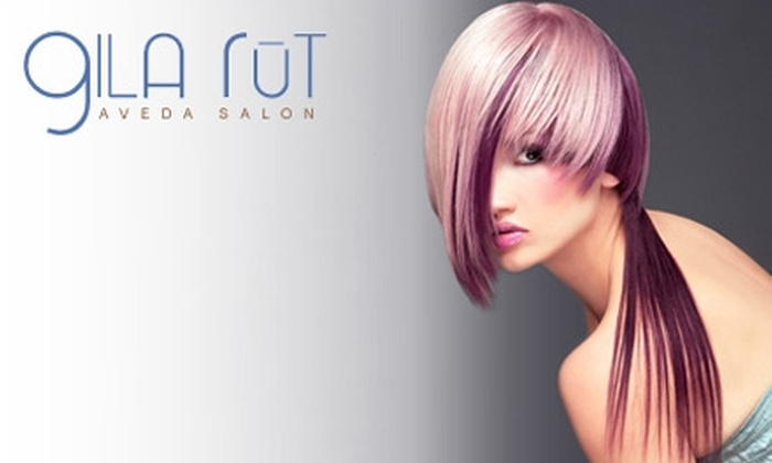 Gila Rūt Aveda Salon - Multiple Locations: $79 for Aveda Hair Spa Treatment with Blow-Dry and Style, Facial, Makeup Application, and Hand Treatment, Plus $15 Worth of Skincare Products, at Gila Rūt Aveda Salon ($160 Value)