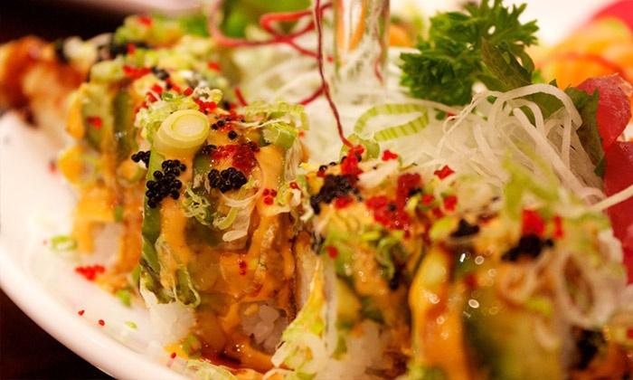 Aodake Sushi & Steak House - Multiple Locations: $16 for $30 Worth of Sushi and Japanese Cuisine at Aodake Sushi & Steak House