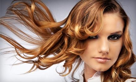 Lavish Salon: Formal Set Hair Treatment for 1 - Lavish Salon in Victoria