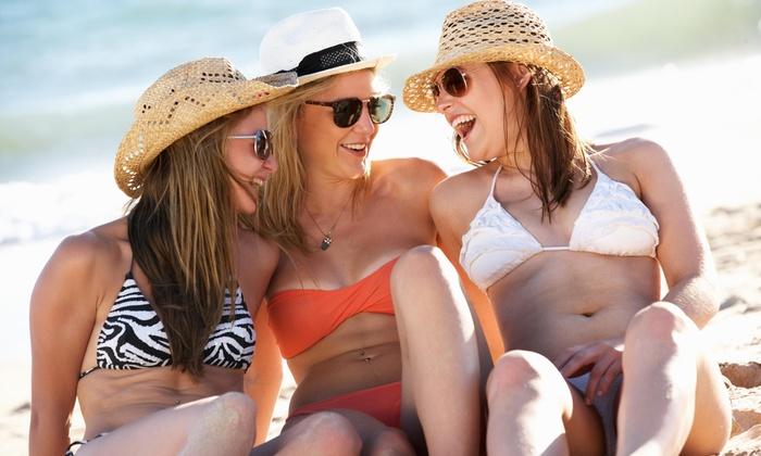 HD Tan - Multiple Locations: Up to 52% Off Spray Tan at HD Tan