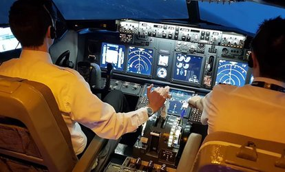 image for 30- or 60-Minute Boeing 737 Flight Simulator Experience at Virtual Flight Experience (Up to 57% Off)