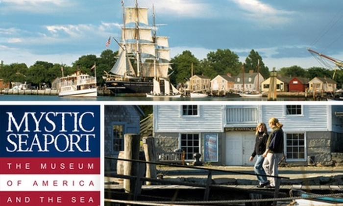 Mystic Seaport: The Museum of America and the Sea - Stonington: $12 for One General Admission to Mystic Seaport: The Museum of America and the Sea in Mystic, Connecticut (Up to $24 Value)