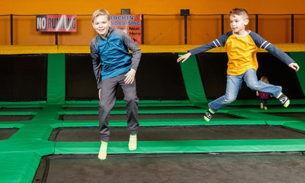 90-Minute Jump Pass for One, Two, Four, or Six People at Rockin' Jump – Dublin (Up to 51% Off)