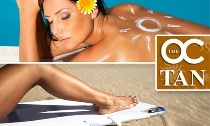 The OC Tan - Multiple Locations: $25 for $100 Worth of Tanning Services at The OC Tan