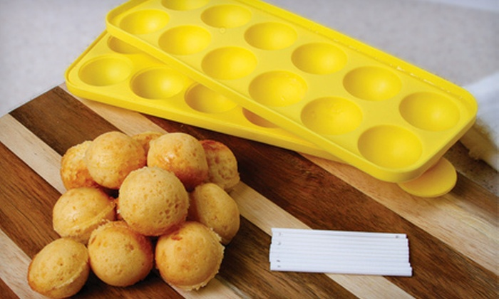 Silicone Cake Pop Trays: $19 for Two Double-Sided Non-stick Silicone Cake Pop Trays ($39.98 Value)