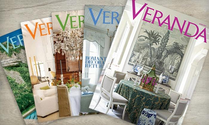 """Veranda"" Magazine: $7 for Eight Issues of ""Veranda"" Magazine ($15 Value)"