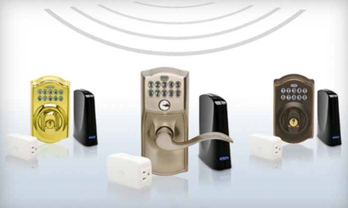 Schlage: $199 for a Wireless Keypad Lock Starter Kit and Subscription to Link Home Management System from Schlage ($407.87 Value)