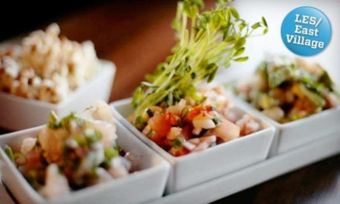 La Zarza - East Village: $25 for $50 Worth of Argentinean and Spanish Dinner and Drinks at La Zarza