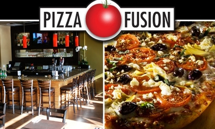 Pizza Fusion - Multiple Locations: $10 for $20 Worth of Pizza and American Fare at Pizza Fusion