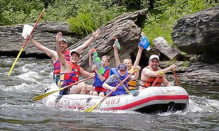 Whitewater Challengers - Weatherly: $42 for Four-Hour Rafting Adventure Including All Gear and Wetsuit Rentals ($84 Value). Two- and Four-Person Options Also Available.