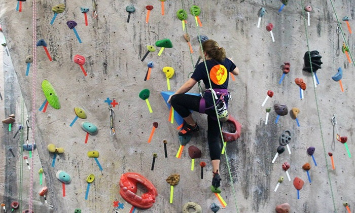 Doylestown Rock Gym - Buckingham: Introductory Indoor or Outdoor Rock-Climbing Package for Two from Doylestown Rock Gym (Up to 50% Off)