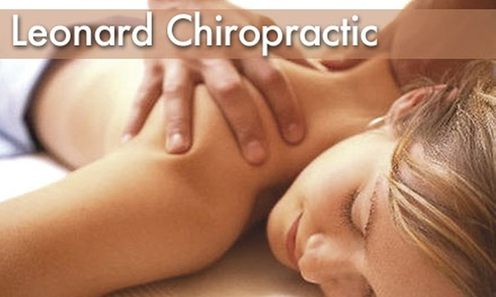 Leonard Chiropractic - Fairview Park: $30 for a One-Hour Massage from Leonard Chiropractic