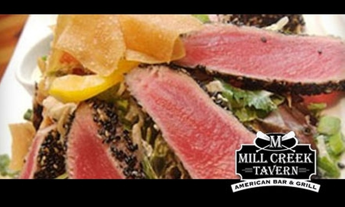 Mill Creek Tavern - Bayville: $20 for $50 Worth of American Concept Cuisine at Mill Creek Tavern