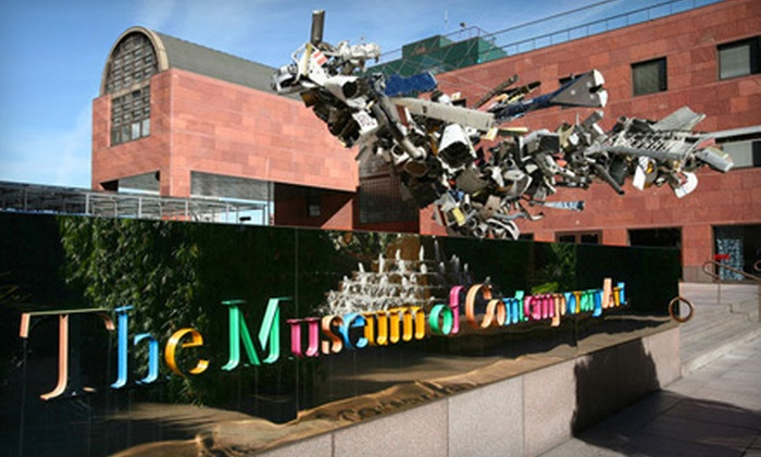 The Museum of Contemporary Art, Los Angeles  - Multiple Locations: One-Year Household or Associate Membership to The Museum of Contemporary Art, Los Angeles