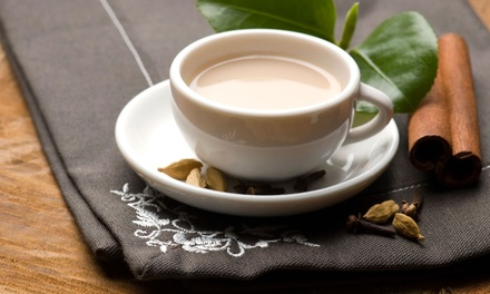 Chai Tea and Dessert at Naanolicious (42% Off). Four Options Available.
