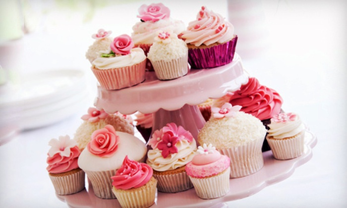 CupCake CornuCopia Inc. - Hawthorne: Cupcake Bar for 50, 100, or 200 Guests from CupCake CornuCopia (55% Off)