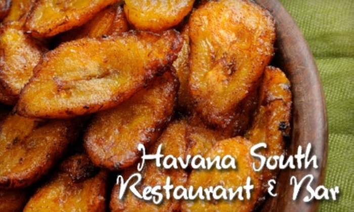 Havana South Cuban Restaurant & Bar - Buford: $12 for $25 Worth of Cuban Fare and Drinks at Havana South Cuban Restaurant & Bar in Buford