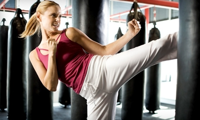 McKenzie Martial Arts - Western: $35 for a Seven-Class Punch Card for Women's Kick-Fit Boot Camp at McKenzie Martial Arts ($70 Value)