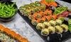 Sushi-Mix-Platte zum Abholen