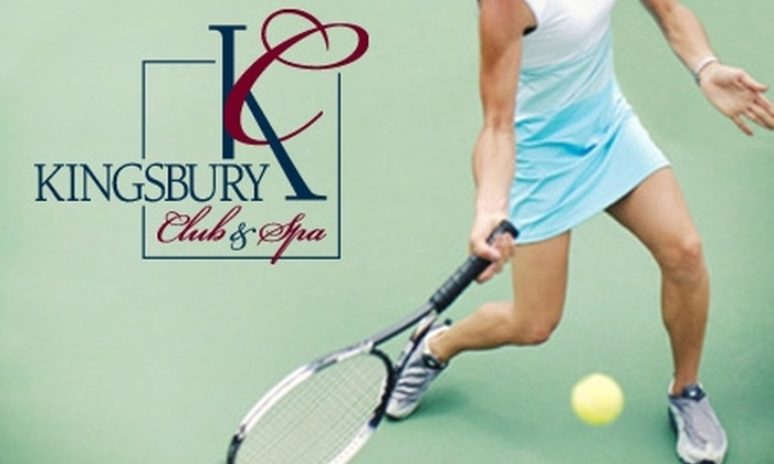 Kingsbury Club Medfield - Medfield: $45 for a Private Tennis Lesson at the Kingsbury Club Medfield